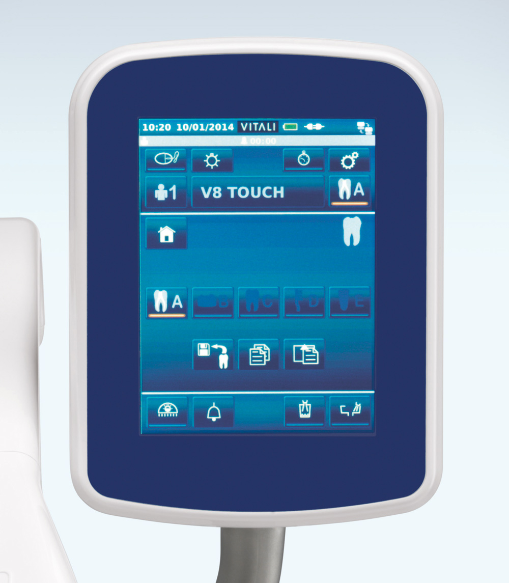Detail Vitali V8 Touch